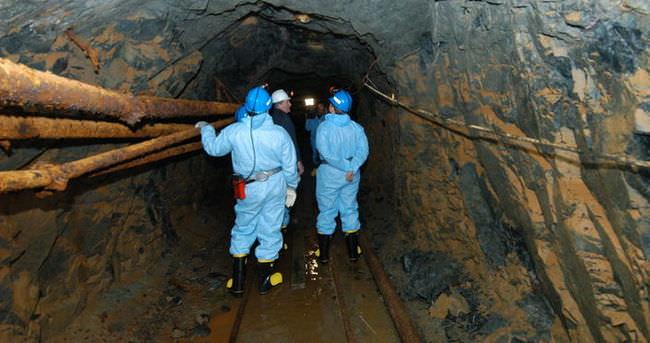 Kanada'da altın madeninde göçük