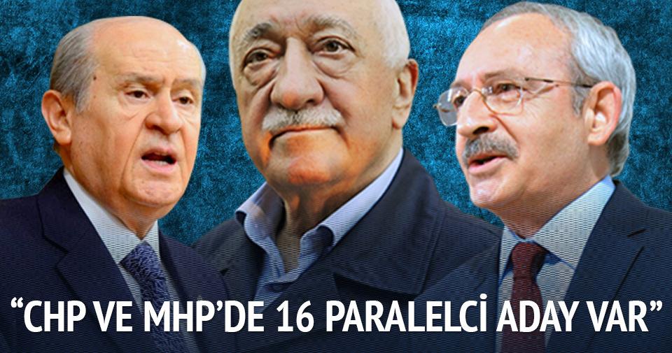 Melih Gökçek: CHP ve MHP'de Paralelci adaylar var