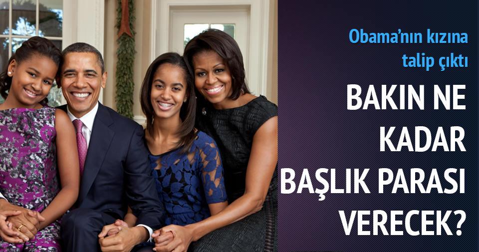 Obama'nın kızını 150 hayvan karşılığı istedi