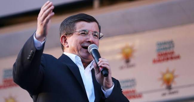 Başbakan Davutoğlu Batman'da konuştu