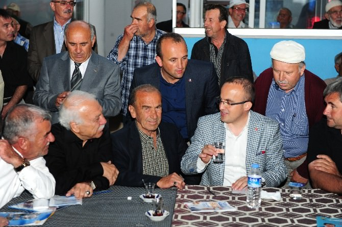 Bülent Turan Biga'ya Çıkarma Yaptı