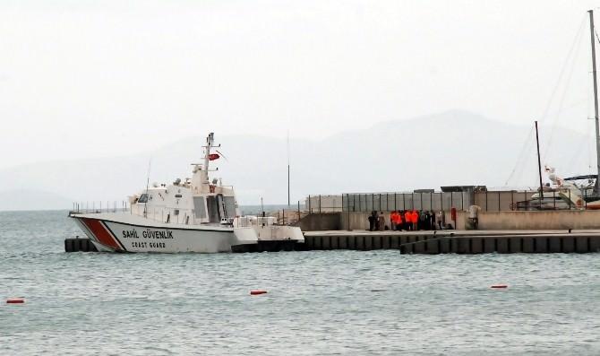 Didim'de Suriye Uyruklu 38 Kaçak Göçmen Yakalandı