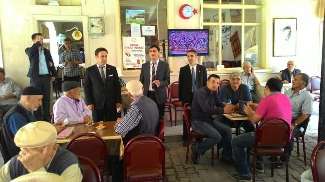 BTP Milletvekili Adayları Çınaraltında Lapseki Halkına Hitap Etti