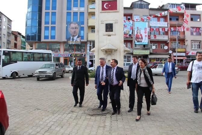 Genel Başkan Karslı, Oltu'da Sıcak İlgiyle Karşılandı