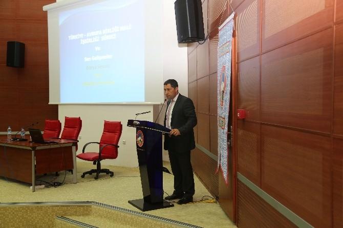AB Uyum Danışma Ve Yönlendirme Kurulu Toplantısı Yapıldı