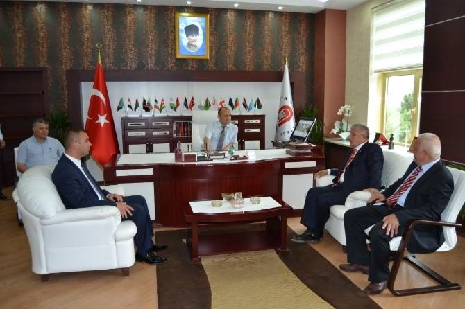 Mehmet Sarı'dan Amasya Üniversitesine Ziyaret