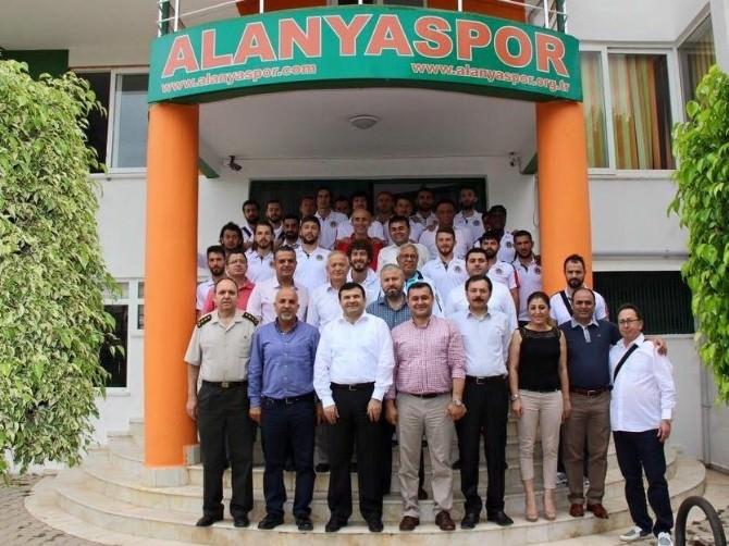 Albimo Alanyaspor Samsun'a Uğurlandı