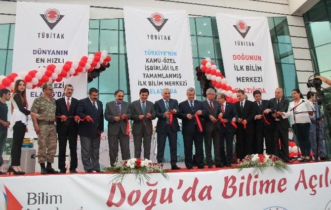 Türkiye'nin 6. Bilim Merkezi Elazığ'da Açıldı