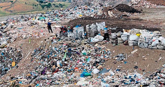Harmandalı'nda manzara vahim