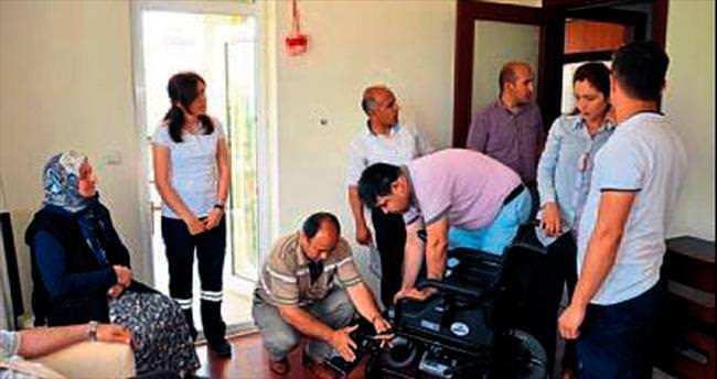 Engelli ve hastalar belediyeye duacı