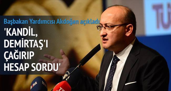 Akdoğan: Demokrasiyi zehirler