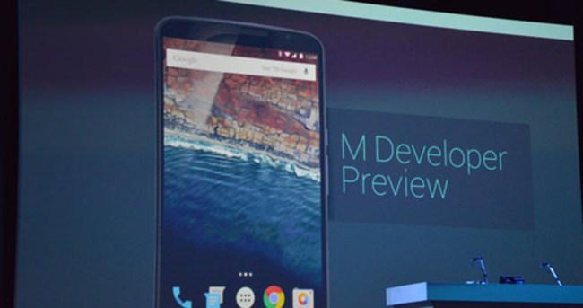 Android M duyuruldu!