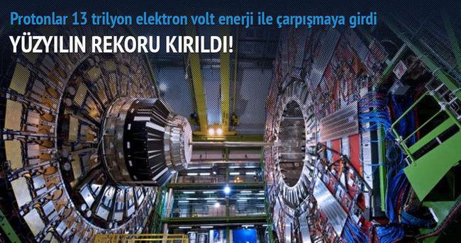 CERN'de yüzyılın rekoru kırıldı!
