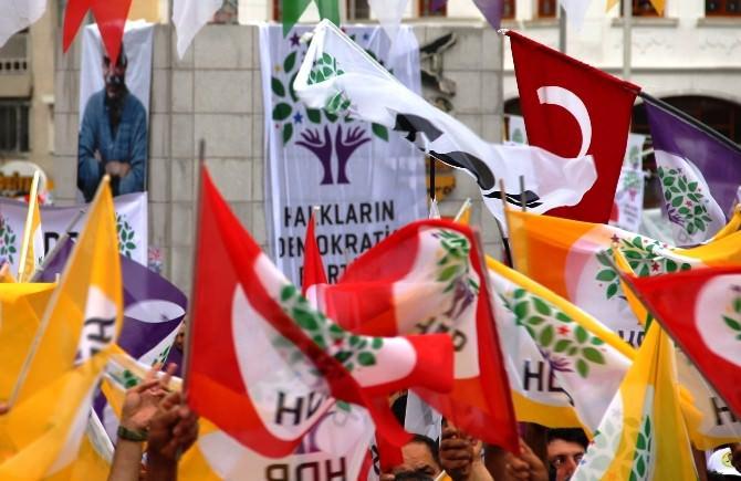 HDP'nin Manisa Mitingi