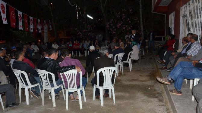 MHP Balkız'dan Üç İlçeye Birden Ziyaret