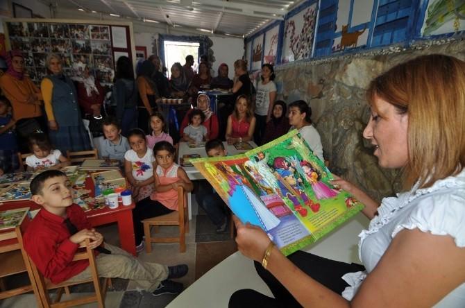 Bodrum'da Okul Deposu İnteraktif Kütüphane Oldu