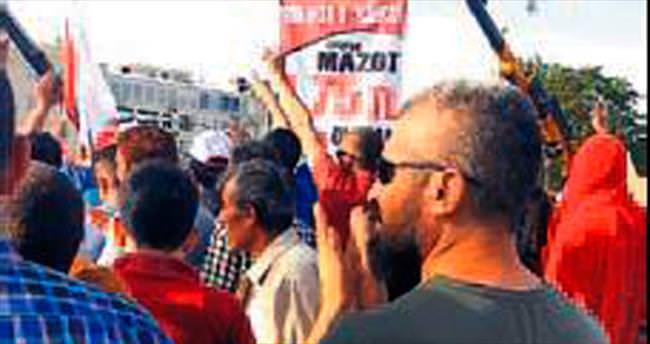HDP'li adayın oğlu MHP mitinginde