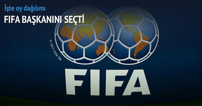 Sepp Blatter yeniden FIFA başkanı