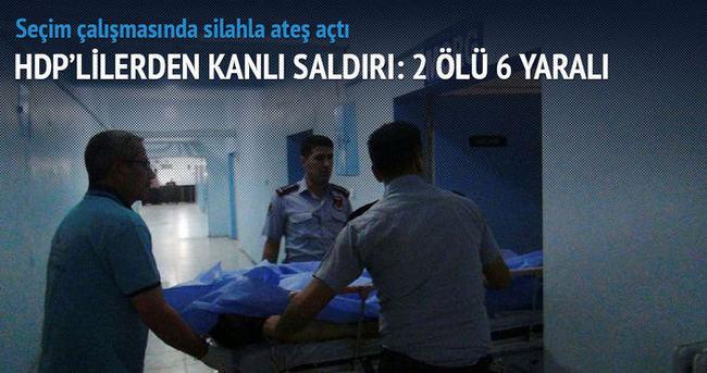 HDP'liler saldırdı: 2 Hüda Par üyesi öldürüldü
