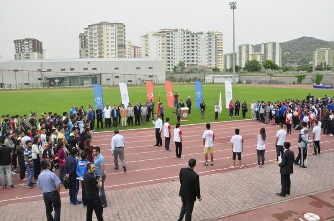 Kayseri'de, İşitme Engelliler, Özel Sporcular Ve Bedensel Engelliler Gençler Türkiye Şampiyonası