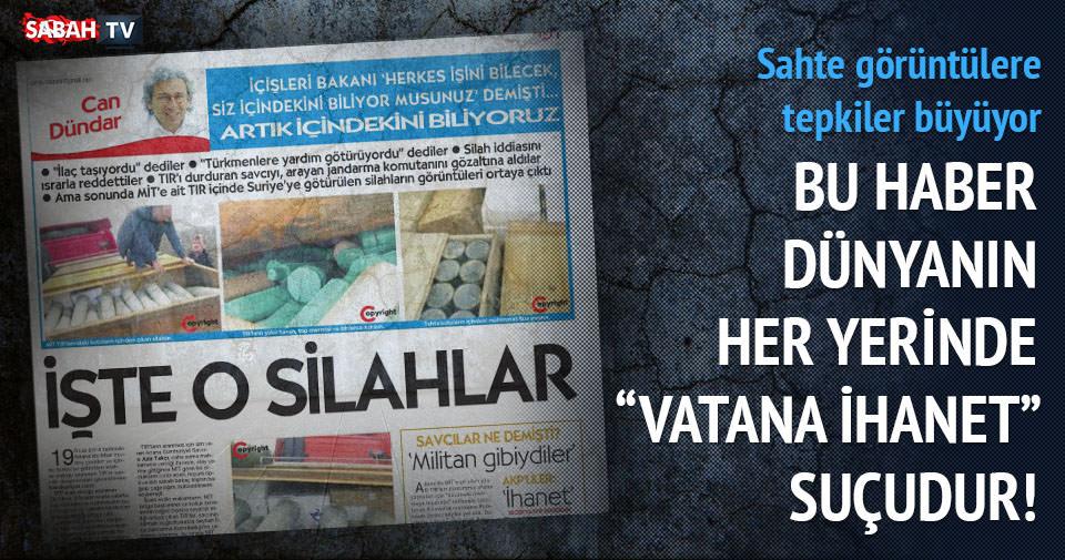 Cumhuriyet'in manşetine sert tepki!