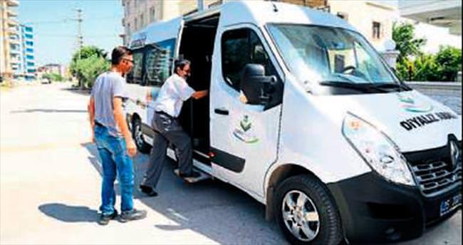 Torbalı'da diyaliz hastalarına araç