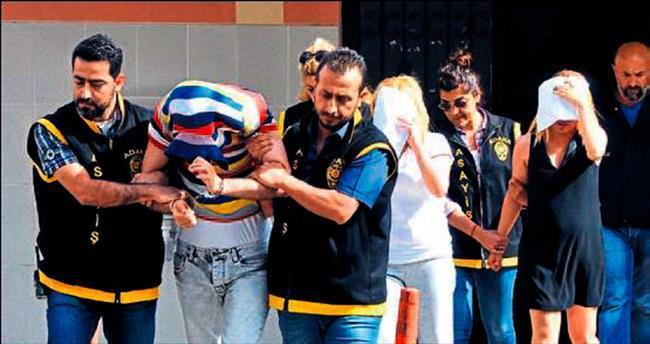 Adana'da masaj salonuna fuhuş baskını