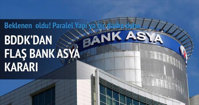 Bank Asya'ya el konuldu