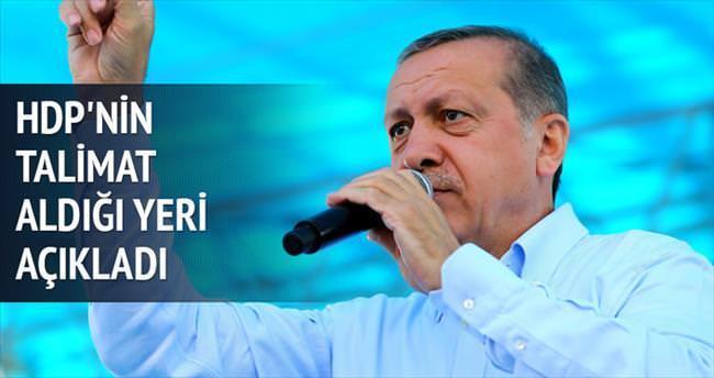 HDP'yi dağ yönetiyor