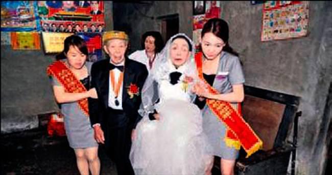 70 yıl sonra düğün hayali gerçek oldu