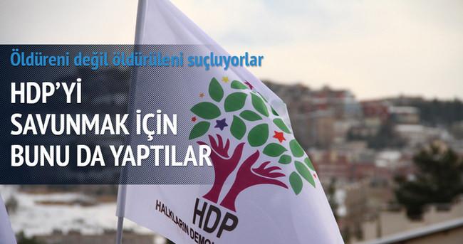 Twitter'da HDP'yi savunmak için inanılmaz bir ahlaksızlığa imza attılar