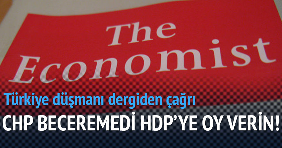 'CHP beceremedi HDP'ye oy verin'