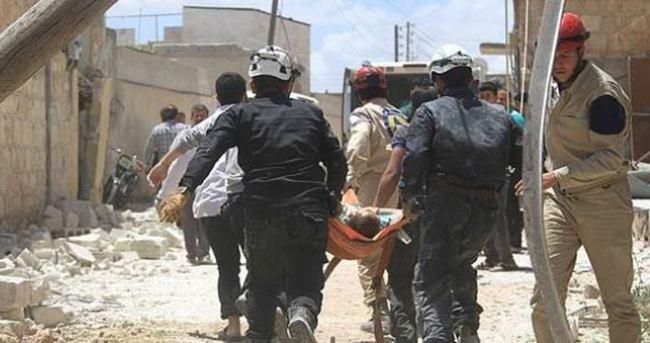 Suriye'de varil bombalı saldırı! 54 ölü