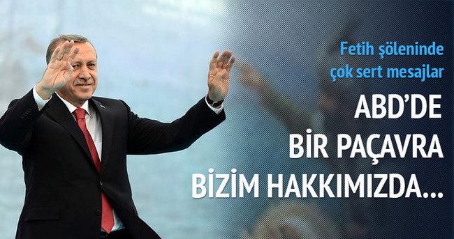 Erdoğan: New York Times adındaki paçavra...