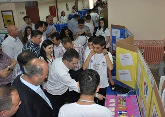 Pamukören Anadolu Lisesi Öğrencilerinin Projeleri Beğeni Topladı