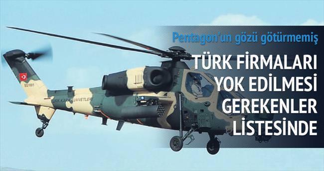 Türk firmalarının önünü Pentagon açtı