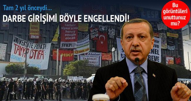 Milli İradeye Operasyon: Gezi