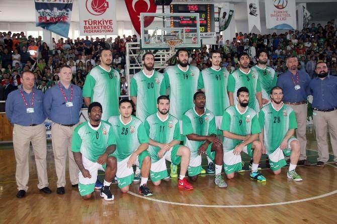 Yeşilgiresun Belediyespor Türkiye Basketbol Ligi'ne Yükseldi