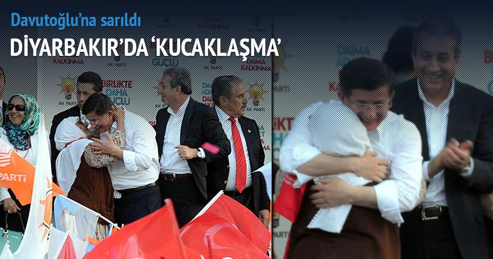 Diyarbakır'da sevgi seli