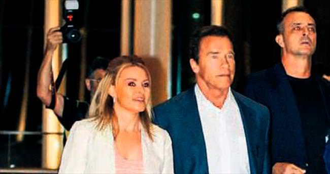 'Terminator' sevgilisiyle Rio'da