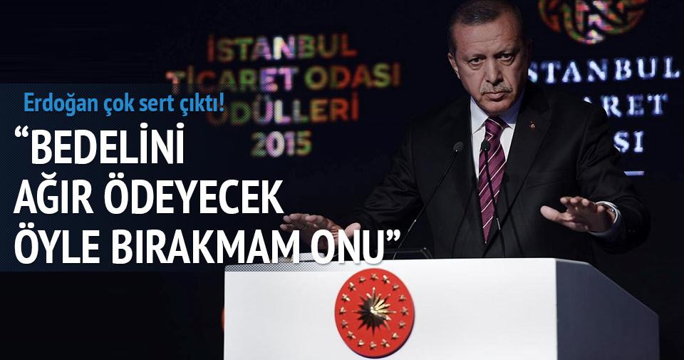 Erdoğan'dan çok sert Can Dündar çıkışı