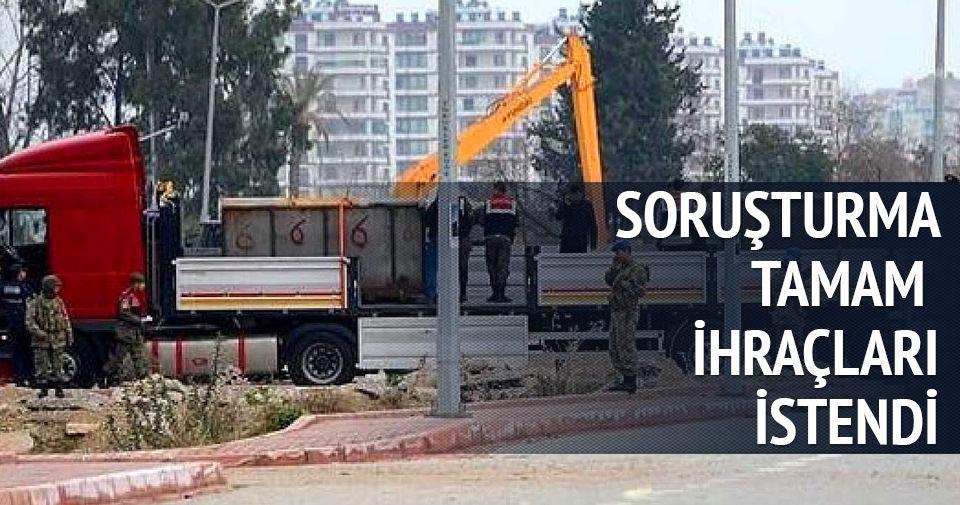MİT TIR'ları savcılarına ihraç talebi