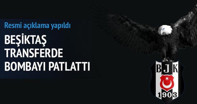 Beşiktaş ilk transferi açıkladı!