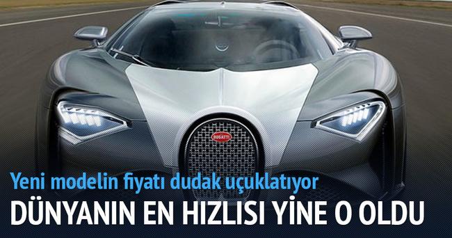 Yeni Bugatti göz kamaştırdı!