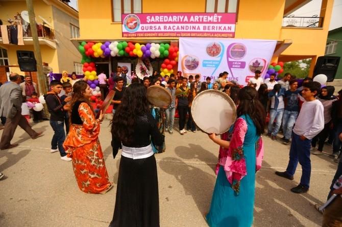 Edremit'te Toplu Açılış Töreni