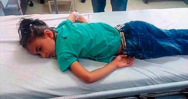 Suriyeli küçük İlef maganda kurbanı