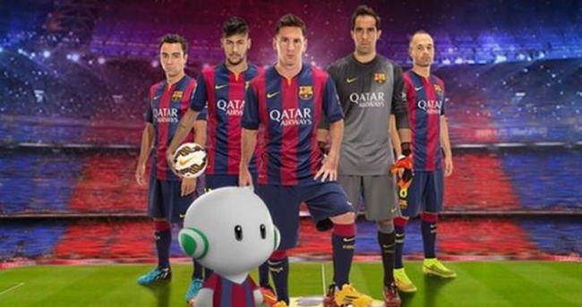 Barcelona Android'e 'transfer' oldu