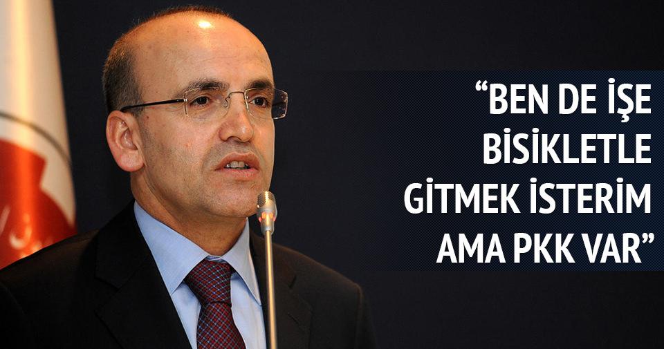 Mehmet Şimşek: Ben de işe bisikletle gitmek isterdim