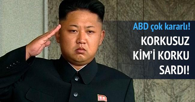 Kim'i korku sardı