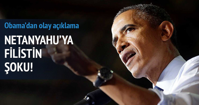 Obama'dan Netanyahu'ya 'Filistin' ayarı